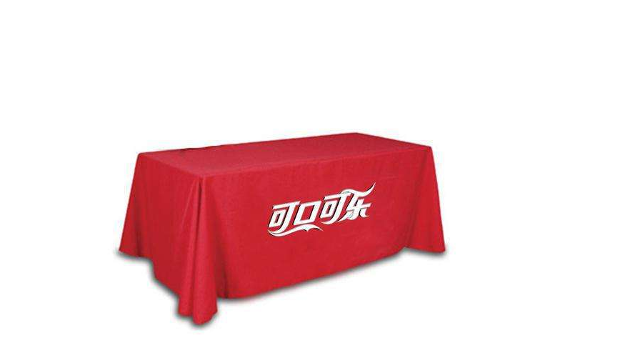 产品宣传桌布
